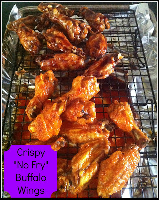 "Crispy ""No Fry"" Buffalo Wings by Being A Wordsmith"