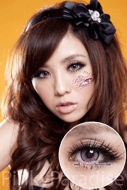 EOS New Adult Pink Circle Lenses (Colored Contacts)