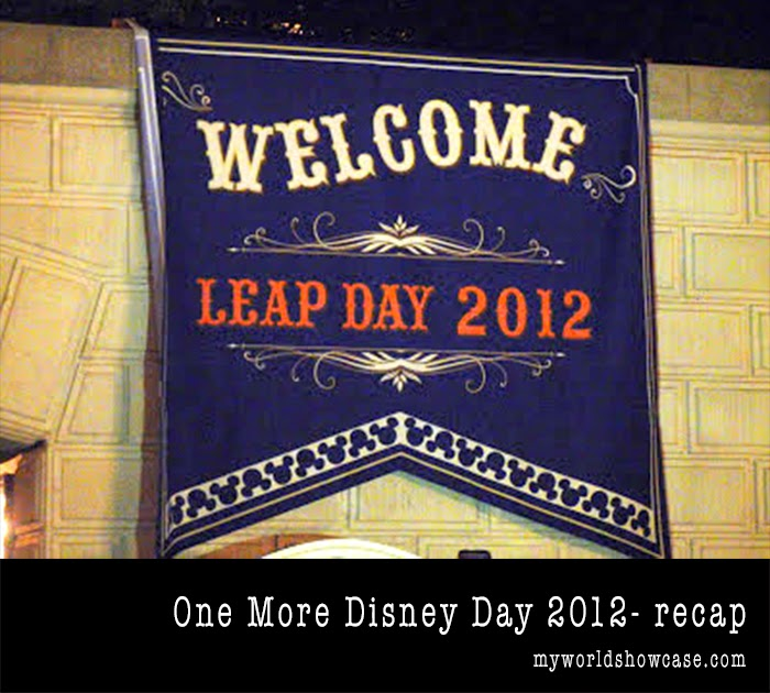 One More Disney Day- Leap Day 2012