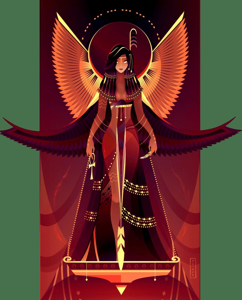 ilustraciones-digitales-de-dioses-egipcios