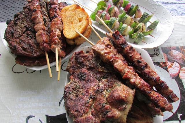 greckie dania z grilla
