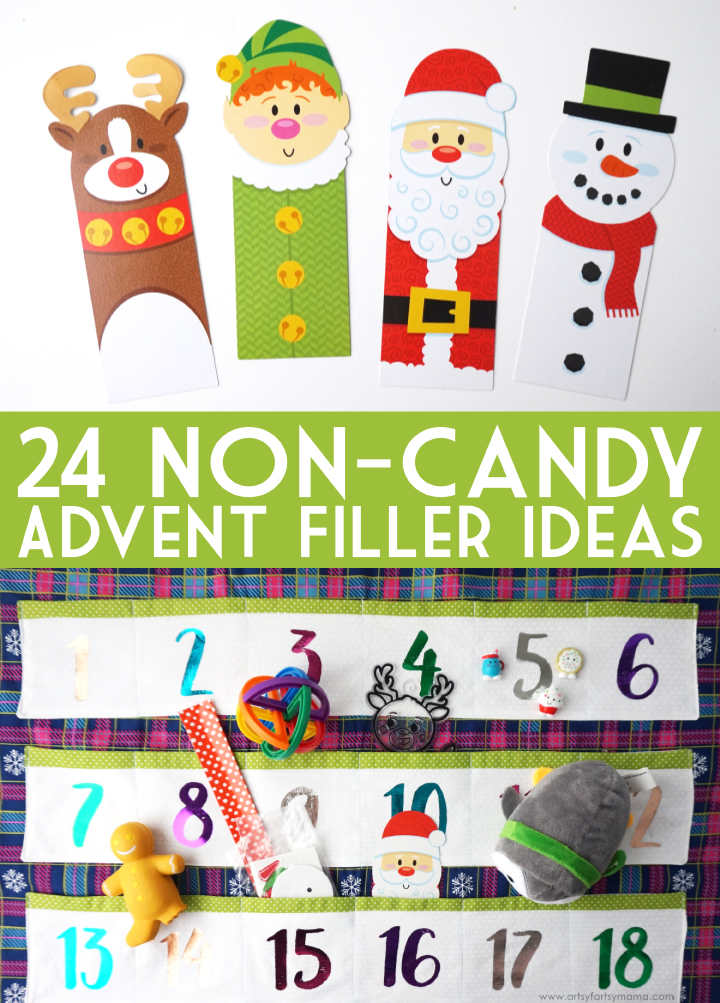 24 non candy advent calendar gift ideas artsy fartsy mama Advent calendar non chocolate
