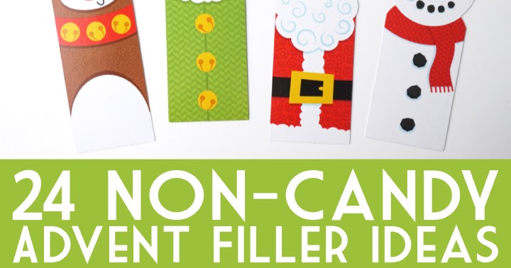 Advent Calendar Ideas Not Chocolate : Non candy advent calendar gift ideas artsy fartsy mama