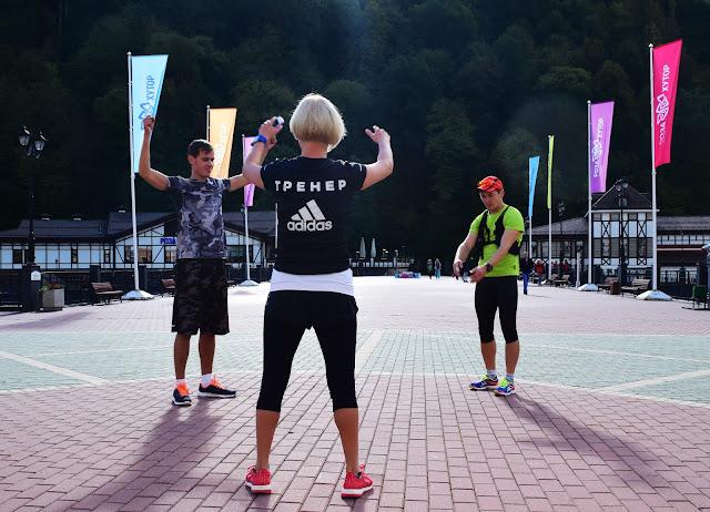 Adidas Runclub, Роза Хутор, Сочи, Краснодарский край