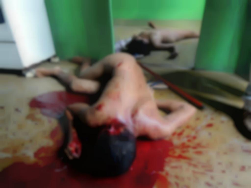 assassinado a marretada e estrangulamento