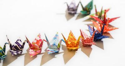 gấp giấy origami rồng