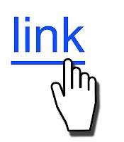 Fare imlecinin üzerine getirildiği mavi renkli ve altı çizgili olan link sözcüğü bağlantısı