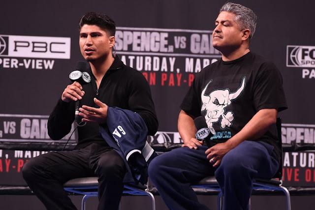 Mikey Garcia and Robert Garcia