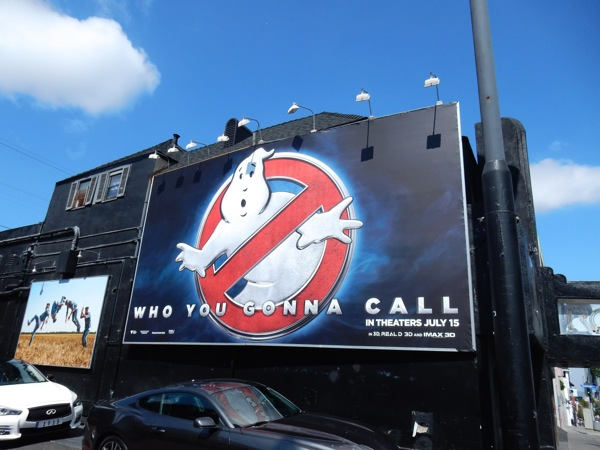 Ghostbusters 2016 teaser billboard