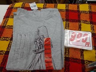 コストコアウトレット、Tシャツ990円ミディアム