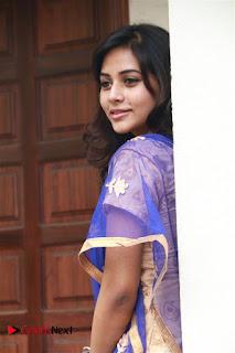 Actress Suza Kumar Pictures in Salwar Kameez at Maaniik Movie Launch  0051.jpg