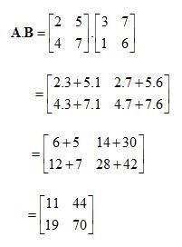 contoh soal Perkalian Matriks