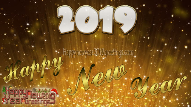 Happy New Year 2019 4k Golden Images Download Free - Happy New Year 2019 Ultra HD Golden Images Download Free
