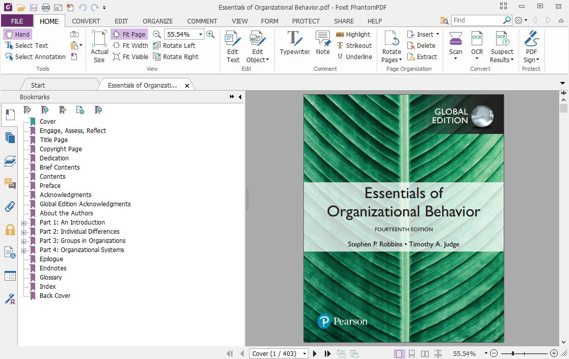 Essentials Of Organizational Behavior Robbins Pdf