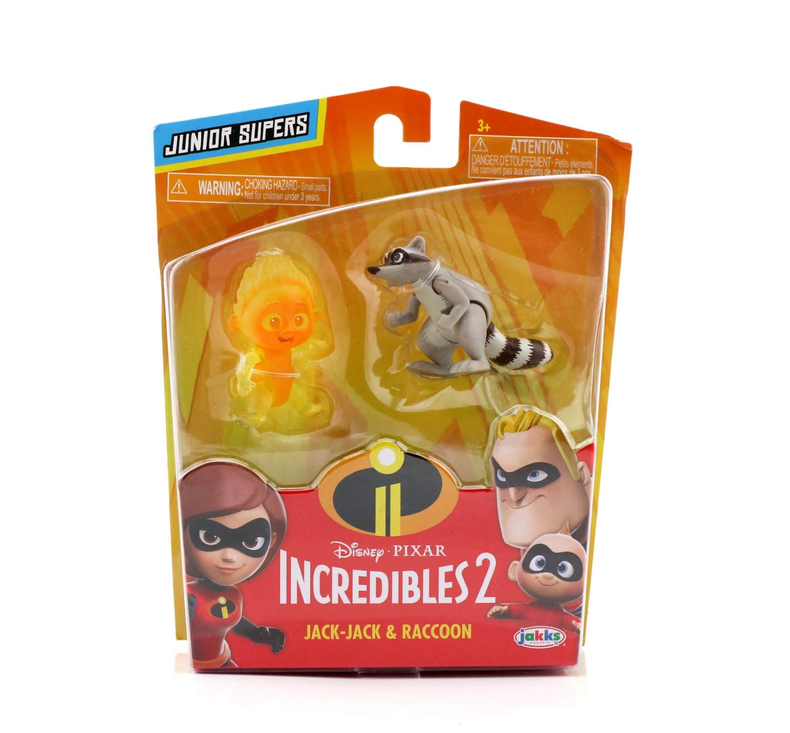 junior supers incredibles 2 jack-jack raccoon