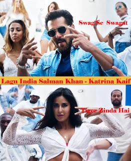 Lagu India Salman Khan Swag Se Swagat- Tiger Zinda Hai