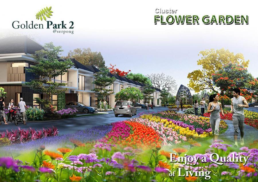 Flower Garden Cluster Golden Park 2 @ Serpong