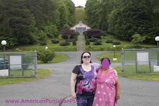American and Indian MIL at Lotus Temple, VA