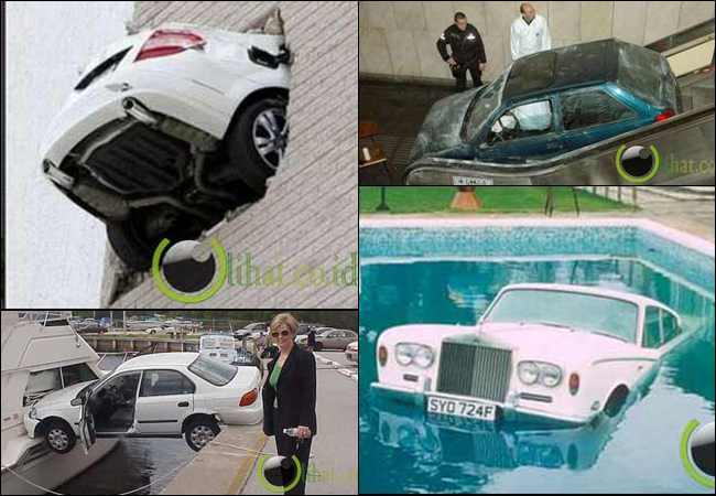 10 Peristiwa Kecelakaan Mobil yang paling Aneh di Dunia
