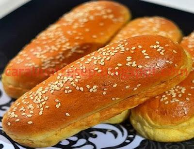 Foto Resep Roti Hotdog Sederhana Spesial Asli Enak Buatan Sendiri Ala Rumahan (Homemade)
