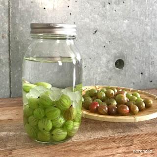 グズベリー酒のレシピ|グズベリー酒とグズベリー