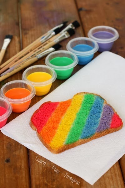 Rainbow Snack for Preschool