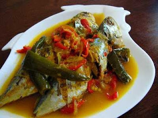 Resep Masakan Ikan Kembung Asam Pedas Untuk Sahur