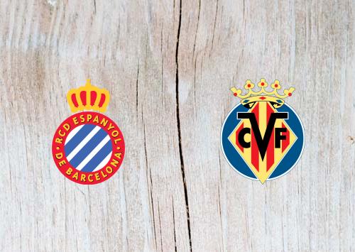Espanyol vs Villarreal - Highlights 17 January 2019
