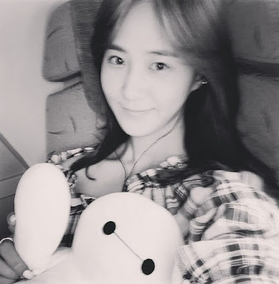 girls generation yuri baymax stuffed toy