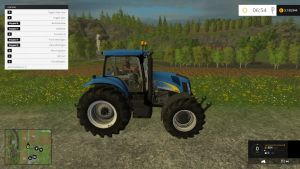 New Holland TG 285 tractor