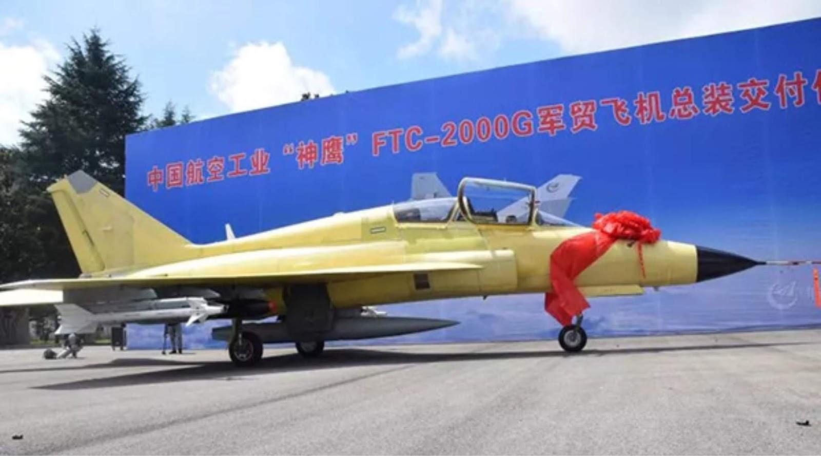 China menghadirkan pesawat tempur multifungsi FTC-2000G