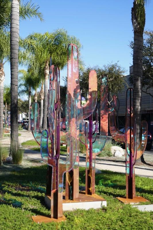 James Peterson Saguaro Cactus sculpture