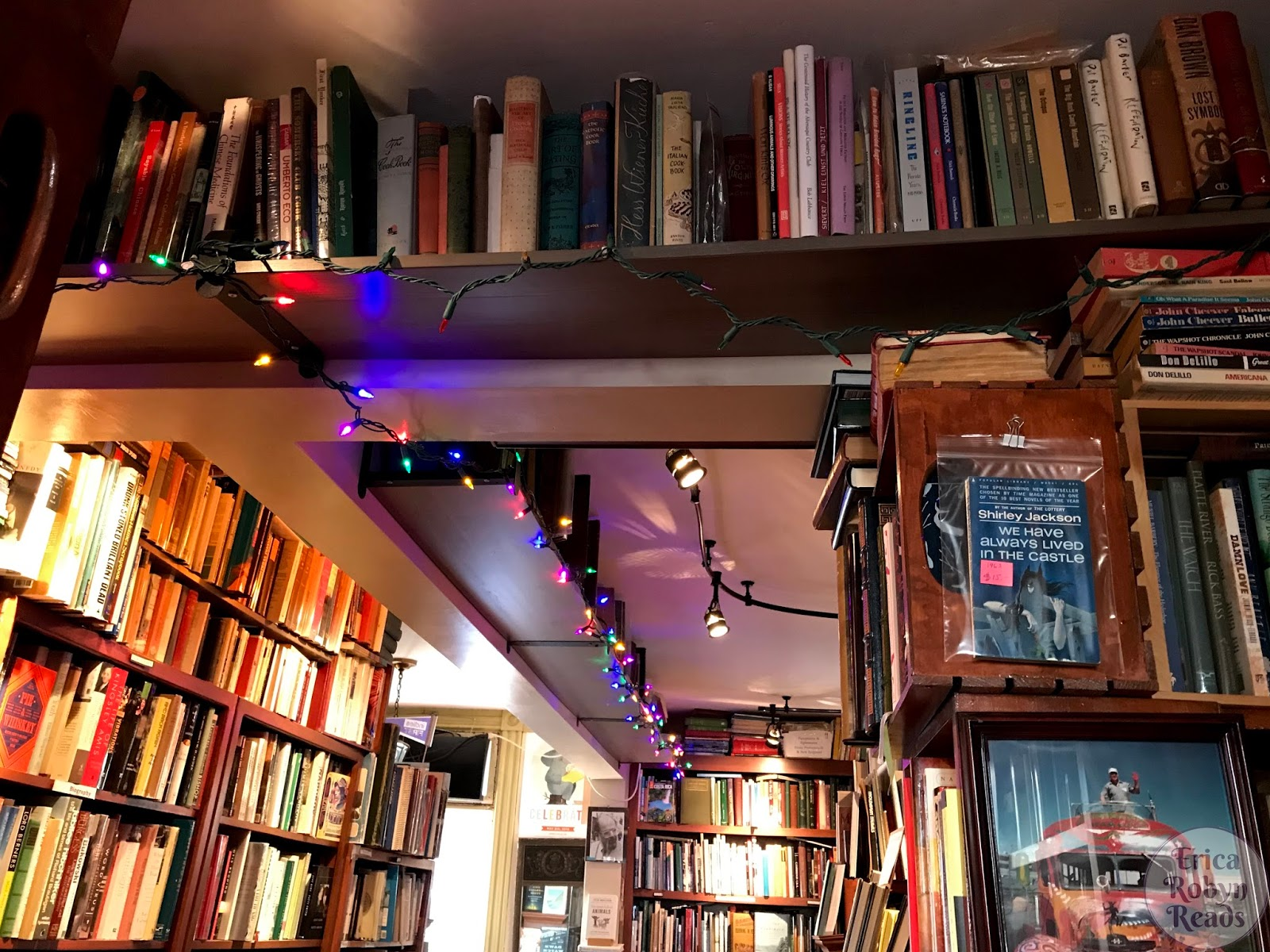 Visiting Sheafe Street Books in Portsmouth, New Hampshire
