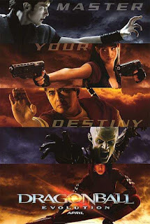 Poster Dragonball Evolution 2009 Movie Dual Audio Free Download 300Mb
