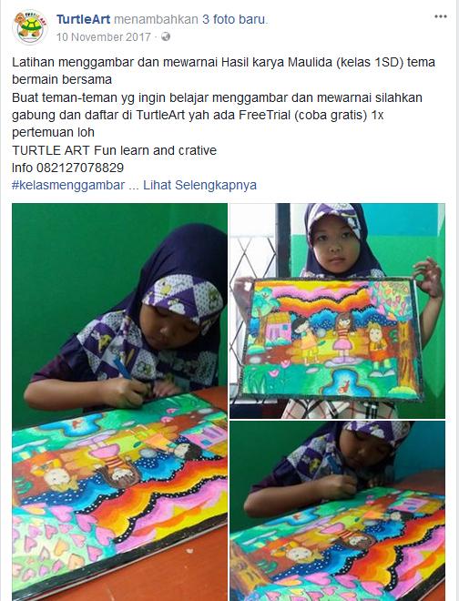 Kursus Menggambar Cimahi Turtle Art Tempat Les Gambar Yg Bagus Di