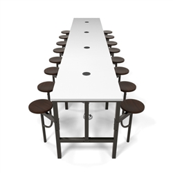 OFM Endure Standing Height Table with Powered Top