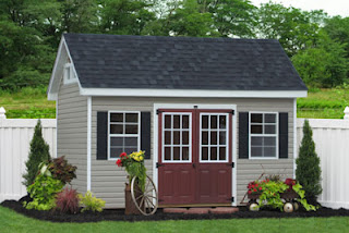 Amish vinyl sheds and barns
