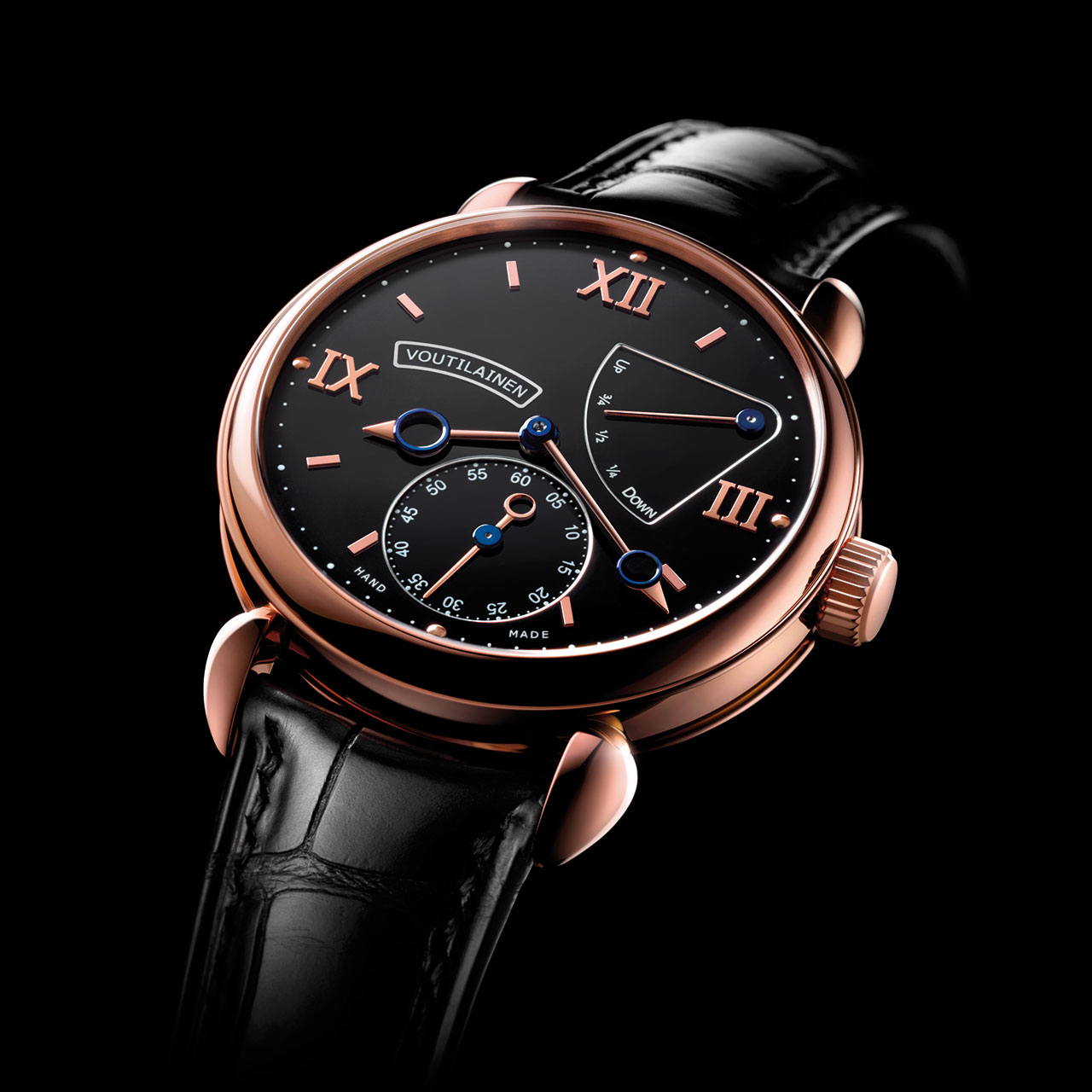 Voutilainen V-8R Mechanical Hand-wound Watch