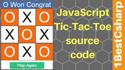 Javascript TIC-TAC-TOE Game