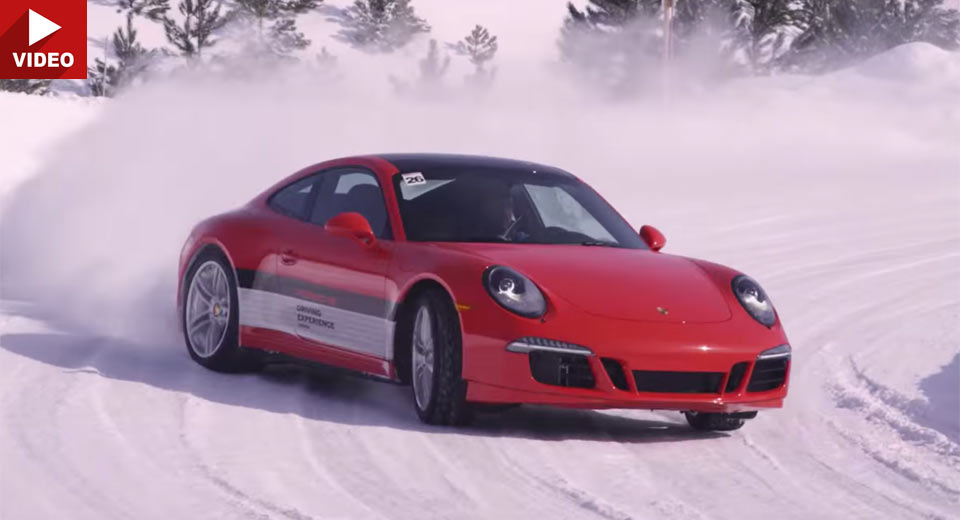 Porsche Camp4 Canada Looks Like Our Kind Of Winter Sport