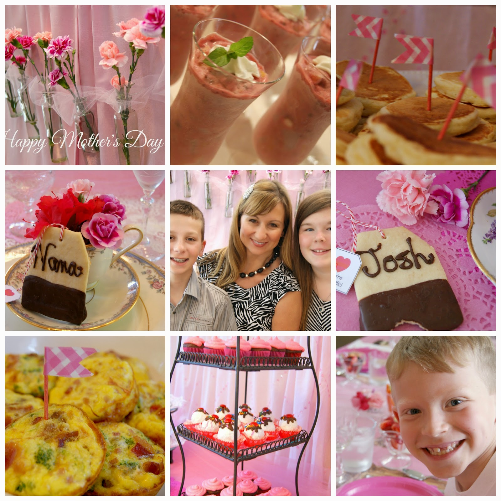 Mother's Day Tea Party Brunch Ideas @michellepaigeblogs.com