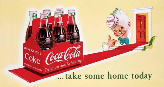 Coca-Cola six-pack 1923