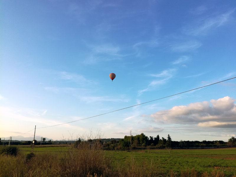 Foto: mongolfiera a Manacor