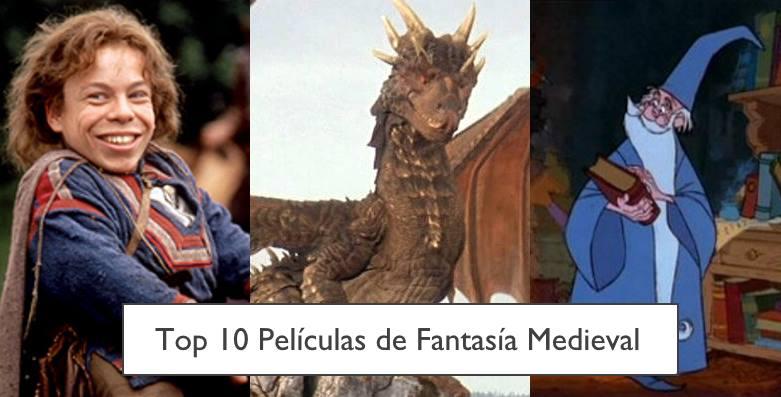 Top 10 Películas de fantasía Medieval