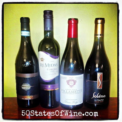 Thanksgiving wines - reds