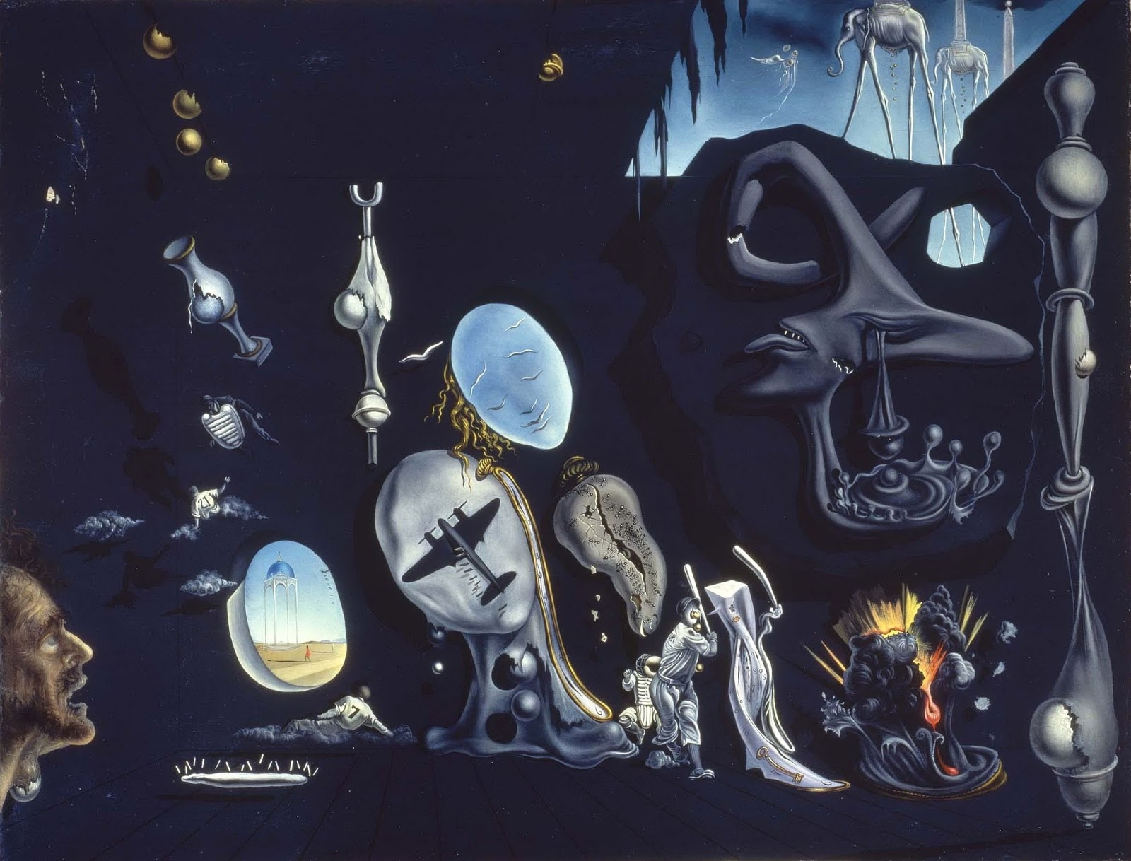 a biography and art of salvador dali a prominent spanish surrealist painter
