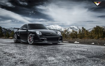 Wallpaper: Vorsteiner Porsche 997 V-RT Edition 911 Turbo