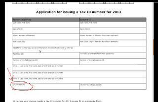 Tax ID Form