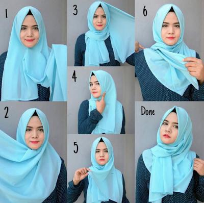 20 Tutorial Hijab Pashmina Untuk Sehari-hari Yang Nyaman Digunakan