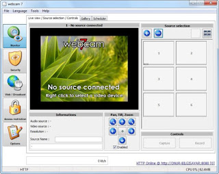 phần mềm webcam 7 pro